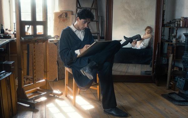 Film: Egon Schiele - Tod und Mädchen - Bild1